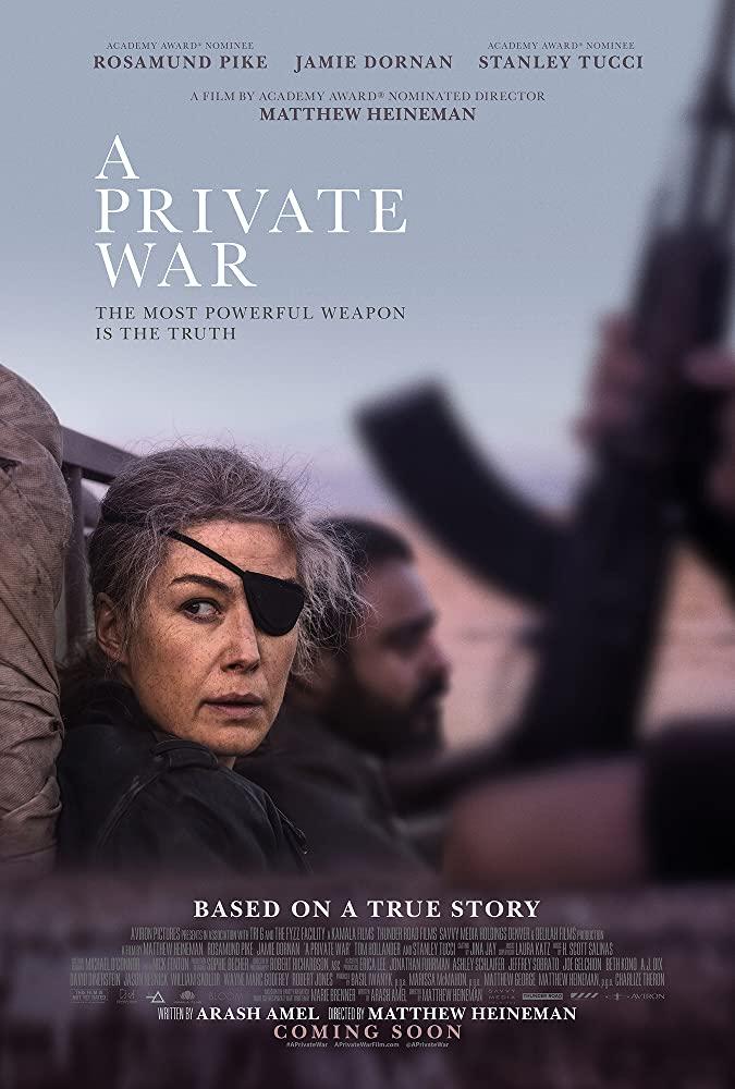 A Private War บรรยายไทย (2018)